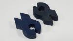 Sema Rubber Rod Clip 2pc
