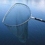 Sharpes Bow Sea Trout Tele Handle - Rubberised Net Bag