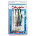 Sidewinder Sandeel Bass Pack 4in 10g