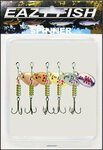 Silverbrook Eazy Fish Assorted Spinner Kit Size