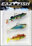 Silverbrook Eazy Fish Pike Shad Lure Pack