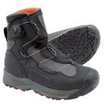 Simms G4 BOA Vibram Sole Wading Boots Black