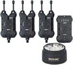 Sonik SKX 3+1 Alarm & Receiver Set with Bivvy Lamp
