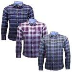 Stillwater Attire Brushed Flannal Check Cotton Shirt