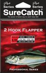 Surecatch 2 Hook Flapper Rig Sz1 20lb
