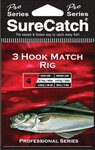 Surecatch 3 Hook Match Rig Sz2 20lb