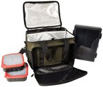TF Gear Cool Bag (With 1 x Lok Box Large And 2 x Bait Tubs)