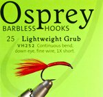 Veniard Osprey Barbless Lightweight Grub Hook