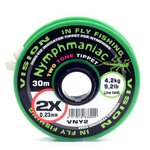 Vision Nymphmaniac Two Tone Tippet 30m