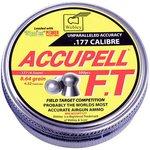 Webley Accupel FT .177 Calibre  8.64 grains 4.52mm Pellets (500 Tin)