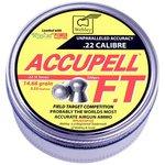 Webley Accupel FT .22 Calibre 14.66 grains 5.53mm Pellets (500 Tin)