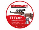 Weihrauch FT Exact Diablo  8.44gr .177 4.51mm 500pc Airgun Pellets
